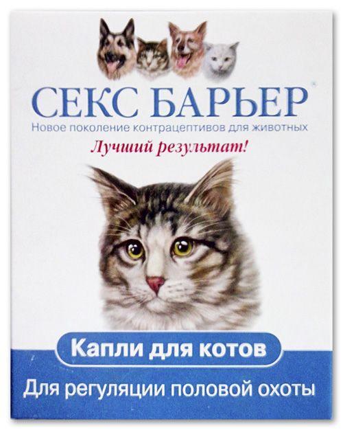 Через сколько начинает действовать секс барьер на кошку